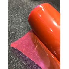 Pembe -Fusya Renk Şeffaf Pvc Mika 1,37 cm En 0.40mm